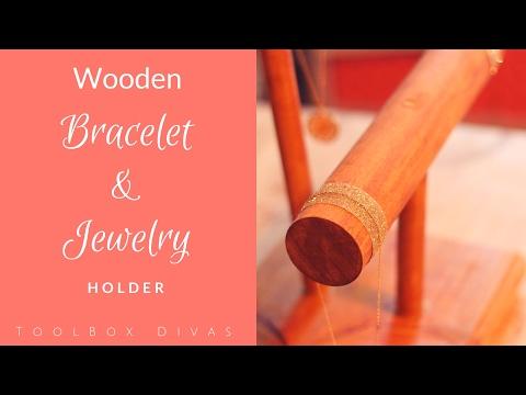 EASY DIY Bracelet/Necklace Holder! | $14 Jewelry Holder