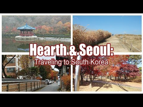 Travel with me to South Korea! Fall 2017! (6 Day Travel Guide) | 00 | SOUTH KOREA