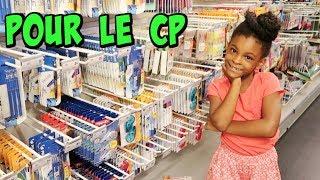 CHASSE aux FOURNITURES SCOLAIRES  2018 pour la rentrée au CP, Back to school