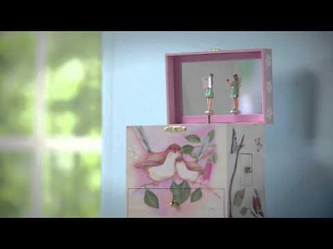 Sweet Fairy Wrens Musical Treasure Box - SKU# 865468- Magic Cabin