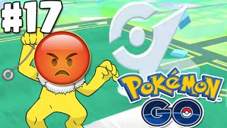 I CAN'T BRING DOWN THIS GYM !! | POKEMON GO Adventures #17 (Pokemon Gym Battles tips)