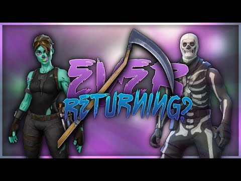 Is The Skull Trooper Ghoul Trooper Or The Scythe Ever Returning To