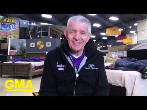 'Mattress Mack' opens doors to help millions of Texans after winter storm l GMA