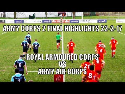 RAC vs AAC League 2 Corps Final Highlights 22-2-17