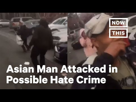 Asian Man Attacked In San Francisco In Possible Hate Crime | NowThis