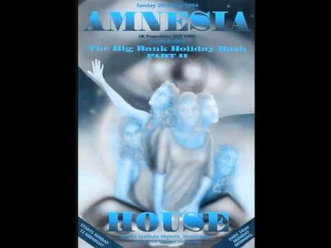 Mickey Finn - Amnesia House 'Bank Holiday Bash' 29/05/94