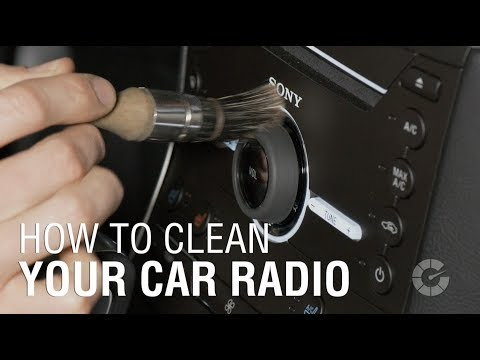 How To Clean Your Car Radio | Autoblog Details