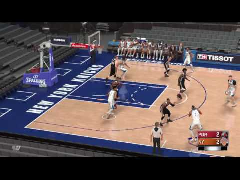 NBA2K17 Knicks freelance