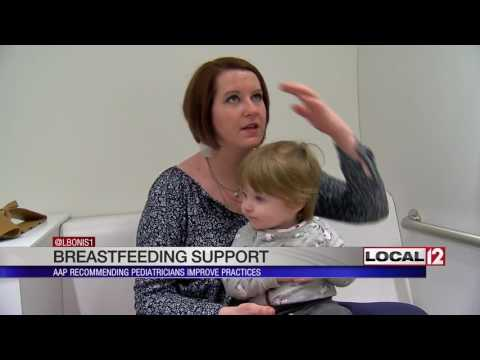 AAP recommends pediatricians offer more breastfeeding support to new moms