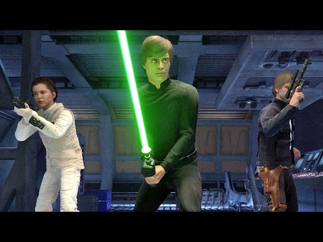Star Wars Battlefront Heróis Vs Vilões: Luke Skywalker, Princesa Leia e Han Solo