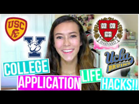 College Application Life Hacks! Tips and Tricks!
