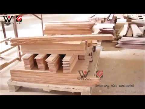 wooden phone case factory, show how to make wood products
