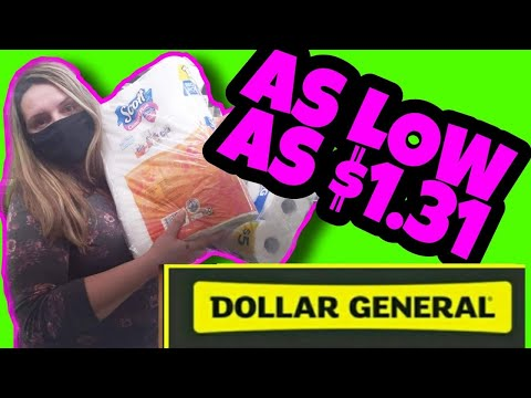 Dollar General Couponing | Pay $1 For $25 Worth