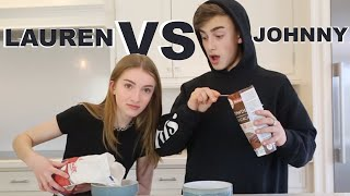 Baixar no recipe baking challenge (Lauren Vs Johnny)