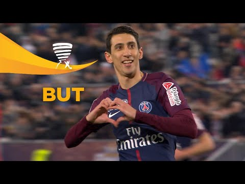 But Angel DI MARIA (21') / Paris Saint-Germain - AS Monaco (3-0) (Finale)  (PARIS-ASM)/ 2017-18