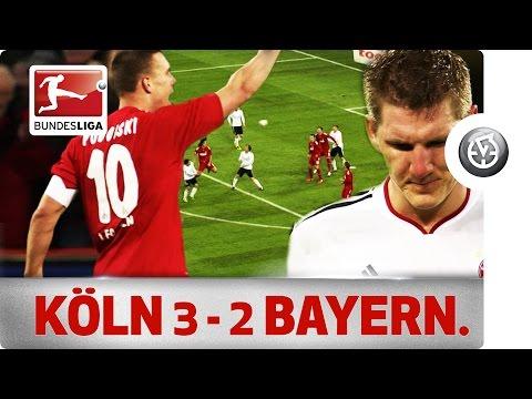 Podolski, Gomez, Schweinsteiger & Co. - 1.FC Köln vs. Bayern München