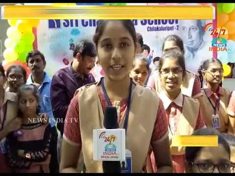 Childrens Day In Sri Chaitanya Techno School_narasaraopet_INDIA TV Telugu
