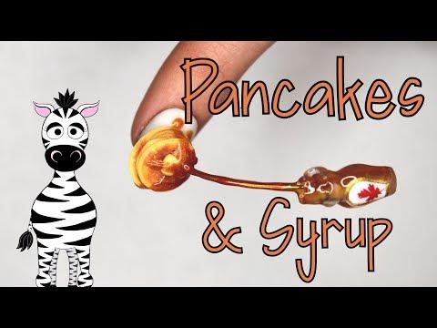 Extreme 3D Pancake And Syrup Acrylic Nail Art Tutorial thumbnail