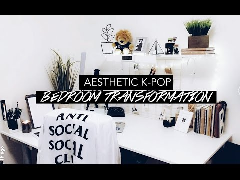 my aesthetic bedroom // Room Makeover VLOG