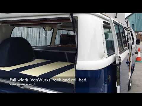 5bda4c8ea3 VW T2 Brazilian Camper Conversion by VanWurks - YouTube
