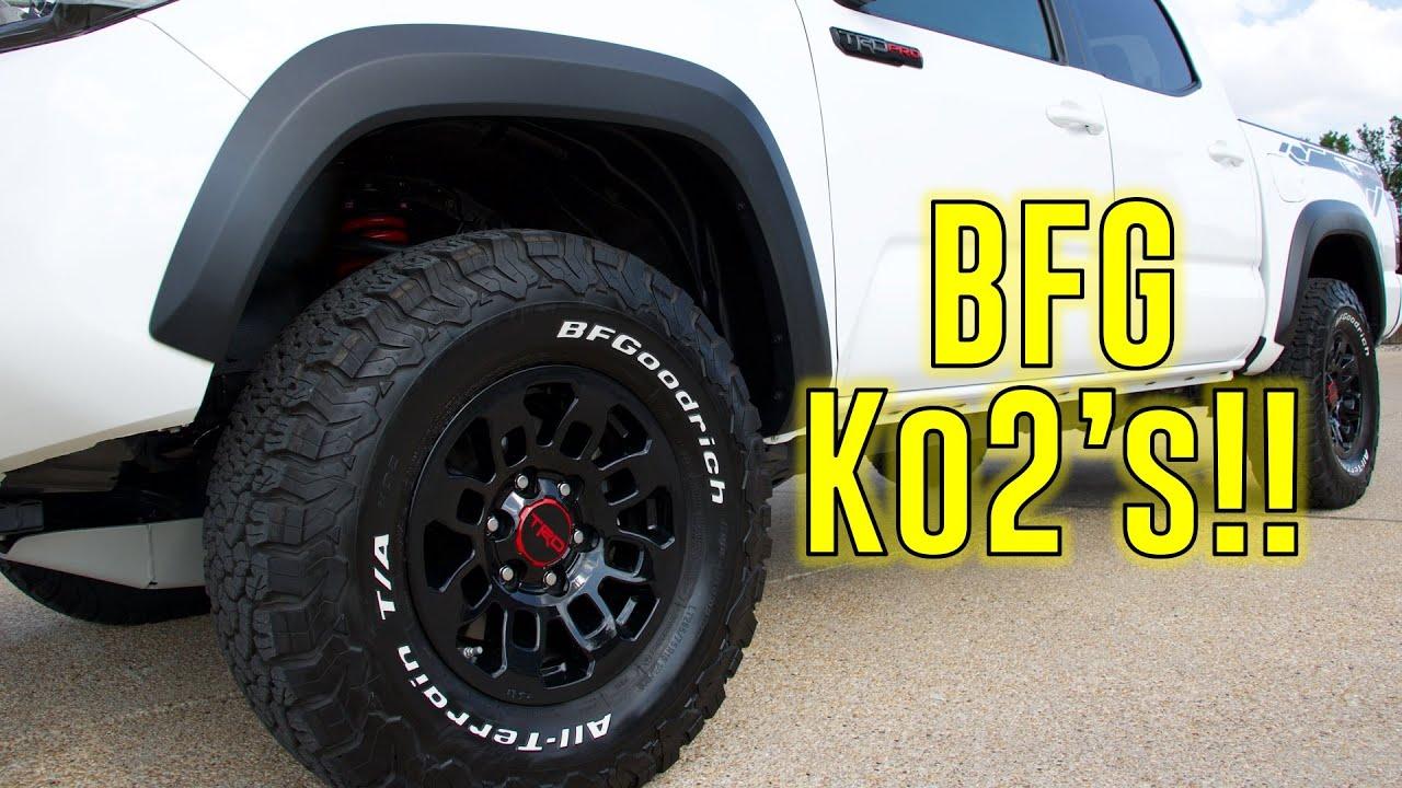Bfg Ko2 Tacoma Trd Pro 2018 Mods 265 75r16 Youtube