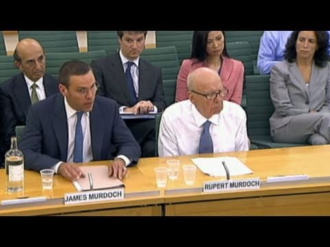 Murdoch Scandal: Father and Son Testify
