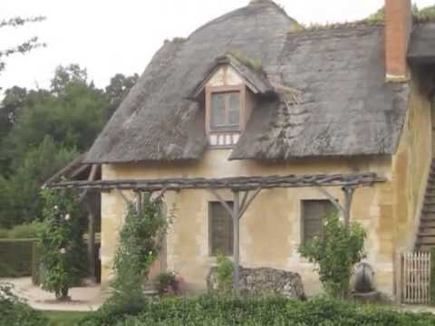 TV host Robert Bornstein tours Marie Antoinette's farm at Versailles, France
