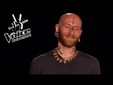 Best Rock & Metal Blind Auditions in THE VOICE [Part 6]