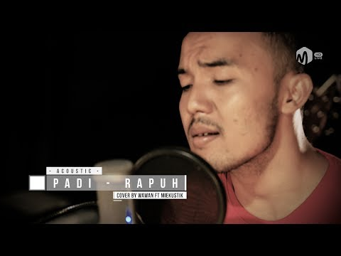 Acoustic Music | Padi - Rapuh Cover by Wawan ft. Miekustik