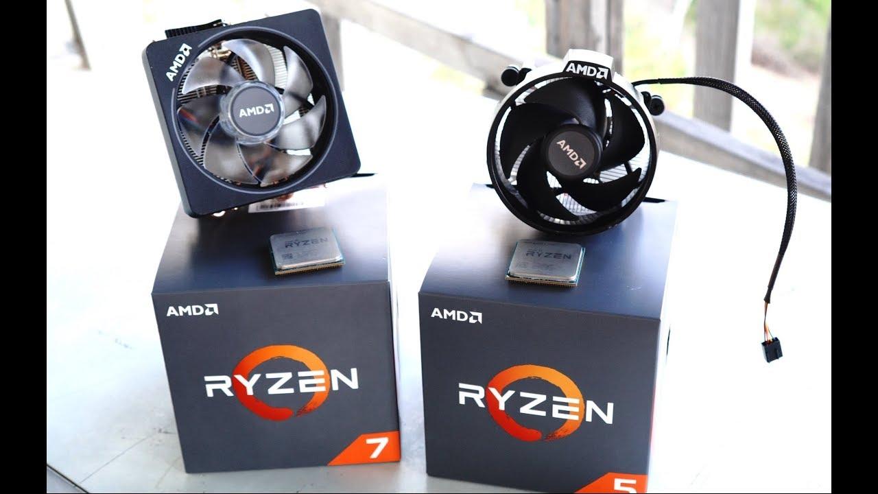Ryzen 7 2700x Vs 2700 Vs Ryzen 5 2600x Vs 2600 Is The X