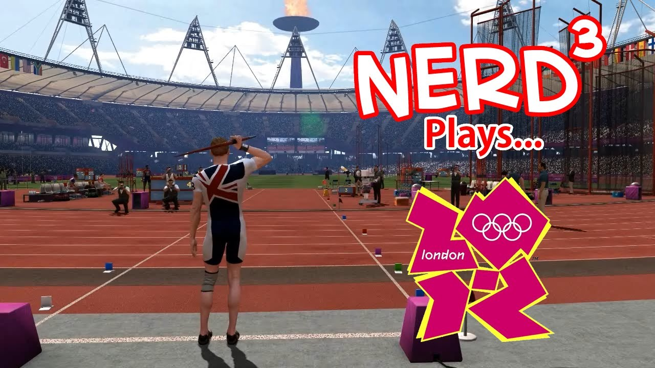 Nerd Plays London 2012 The Official Video Game Of The