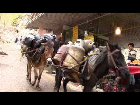 Darakeh (riverside restaurants & scenery of Damavand mountains), North of Tehran