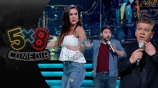 Programa 3: Mariazel, Jaime Rubiel y Luikiwiki | 5x8 comedia - Distrito Comedia