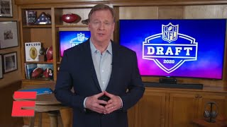 Roger Goodell opens up 2020 NFL Draft with message to fans | NFL on ESPN