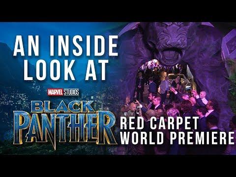 An Inside Look at Marvel Studios' Black Panther Red Carpet World Premiere