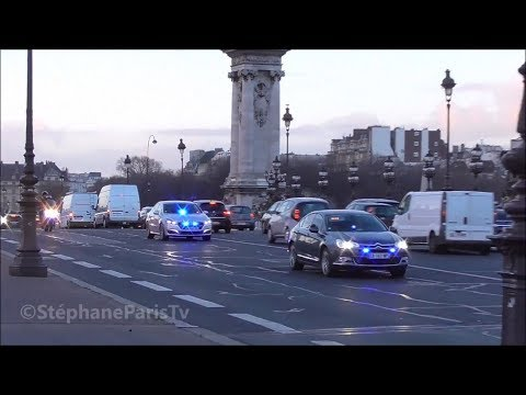 french government cars in Paris
