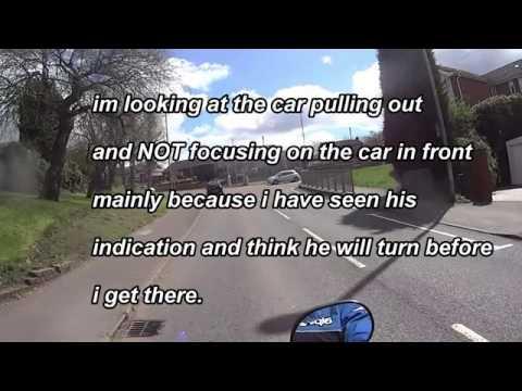 Motorcycle Close To Crash FOCUS FAIL