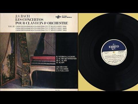 Anne-Marie Beckensteiner, Robert Veyron-Lacroix (harpsichord) J.S. Bach, BWV 1060, 1061, 1062