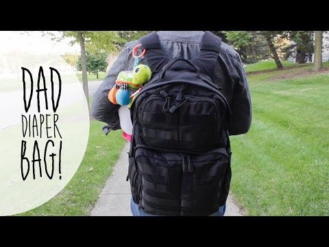 WHAT'S IN MY DIAPER BAG? | DADDY EDITION