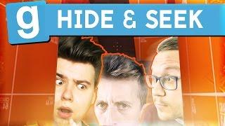 ZNOWU POMARAŃCZOWY DOM! | Garry's mod (W: Admiros, Mandzio, Ignacy, Alien) #416 - Hide & Seek (#42)