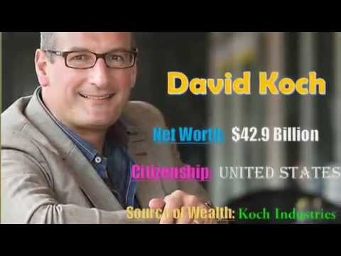 Top 10 The World's Billionaires 2015