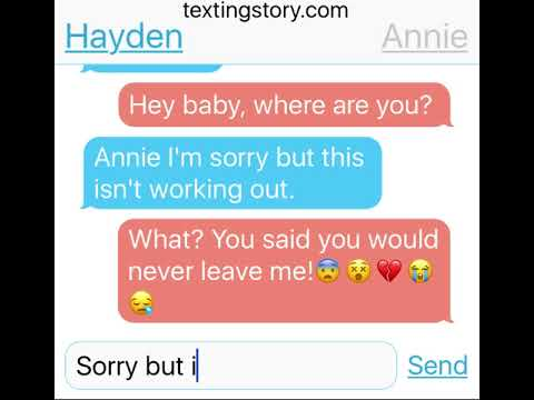Hayden and Annie break up then get back together!😱❤️