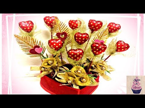A Square Chocolate Bouquets By Asma Kapadia