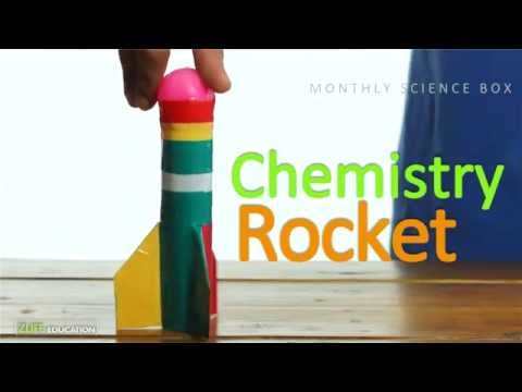 Build Your Own Rocket : Monthly Box Science Experiment for Kids
