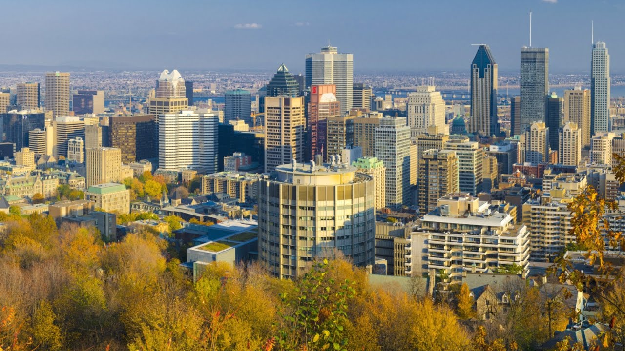 Montreal Quebec Canada North America YouTube