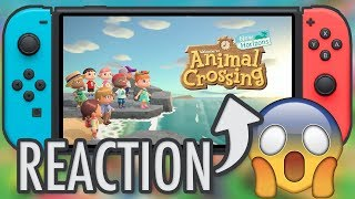 Animal Crossing New Horizon REACTION