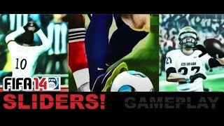 FIFA 14 Sliders: Better than the other!