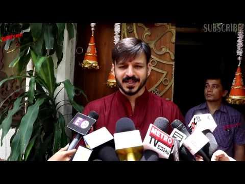 Vivek Oberoi Ganpati Celebration With Family 2016