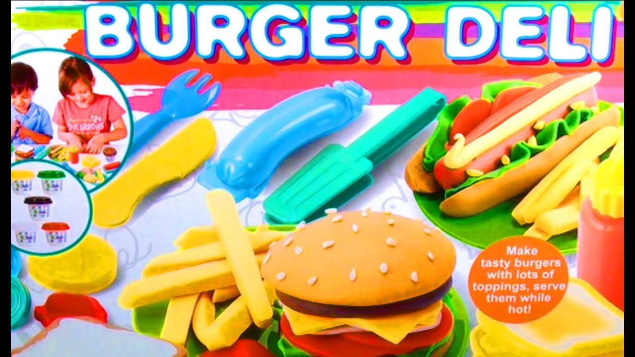 Playdough Fast Food