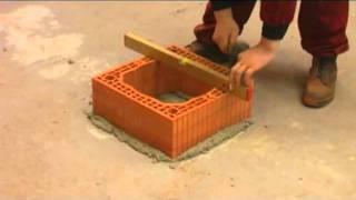 Komínový systém Heluz - vyvýšení komínové paty